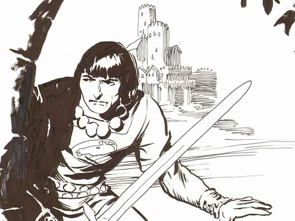 Prince Valiant Sketches